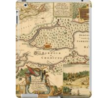 Map Of Halifax 1751 iPad Case/Skin