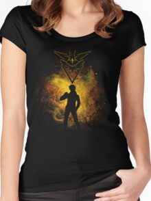 Instinct Art Women's Fitted Scoop T-Shirt