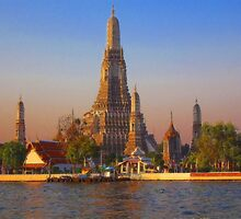 Wat Arun, (Temple of the Dawn), Bangkok, Thailand by vadim19
