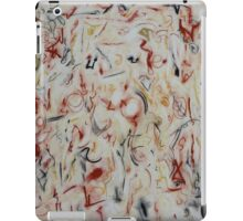 Real and Unreal, Ochre, Indian Yellow & Black iPad Case/Skin