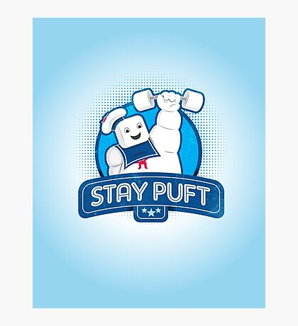 Stay Puft!  Photographic Print