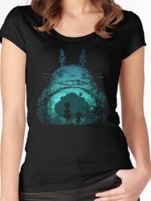 Treetoro Women's Fitted Scoop T-Shirt