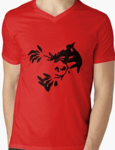 Yveltal Shadow Mens V-Neck T-Shirt