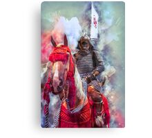 18th Century Samurai Warrior Canvas Print