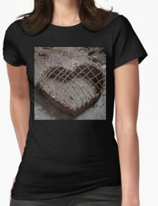 FRAGILE HEART Womens Fitted T-Shirt