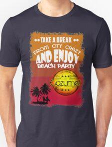 Beach Party Cozumel Unisex T-Shirt