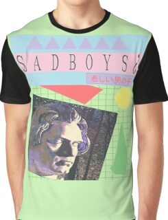 generic  vaporwave  sadboys¿  design Graphic T-Shirt