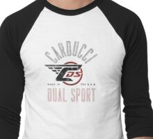 CDS Arch Classic Design in Red, White, and Black Men's Baseball ¾ T-Shirt