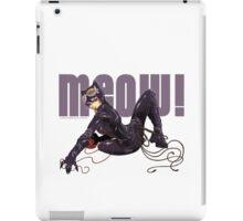 MEOW! - CATWOMAN iPad Case/Skin