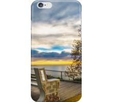 Vista seat iPhone Case/Skin