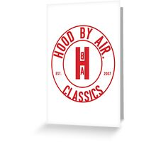 H.B.A. CLASSICS Greeting Card