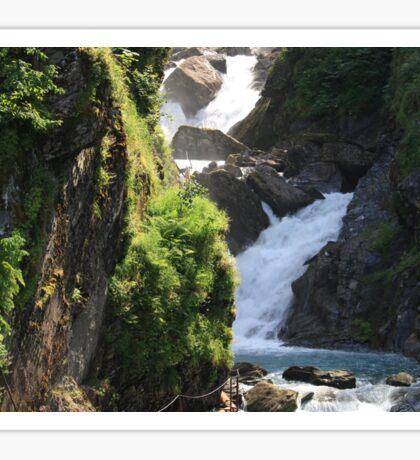 Valdez Waterfall Sticker
