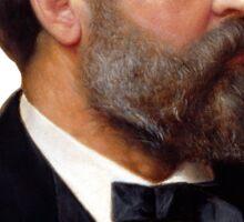 President James Garfield Sticker