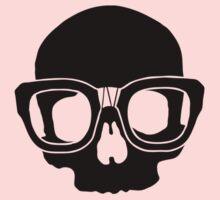 Inner Geek One Color Logo (Black) Kids Tee