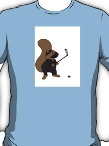 Ninja Squirrel hockey T-Shirt