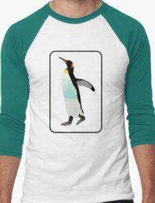 Emperor Penguin Clipart. T-Shirts & Gifts. Men's Baseball ¾ T-Shirt