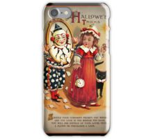 Halloween Tricks or Treats Mirror iPhone Case/Skin
