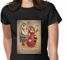 Halloween Tricks or Treats Mirror Womens Fitted T-Shirt