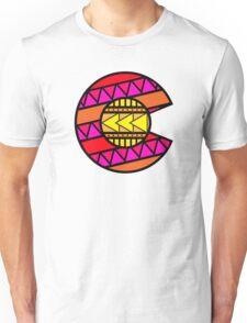 Colorado Tribal Flag: Pinks Unisex T-Shirt