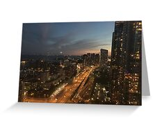 Downtown Toronto City Greeting Card