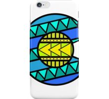 Colorado Tribal Flag: Blues iPhone Case/Skin