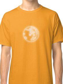 Luna's Moon Neon Glow Lights Classic T-Shirt