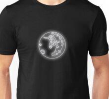 Luna's Moon Neon Glow Lights Unisex T-Shirt