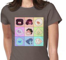 Steven Universe - Gem Points Womens Fitted T-Shirt
