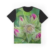 Rosa Rugosa - Beach Rosebuds Wall | Hampton Bays, New York Graphic T-Shirt