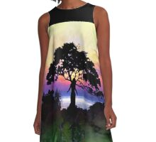 Tree of Life A-Line Dress