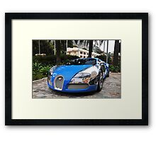 Bugatti Veyron 16.4 Centenaire Framed Print