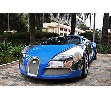 Bugatti Veyron 16.4 Centenaire Photographic Print