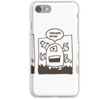 Tentacle Robot Story - Special iPhone Case/Skin