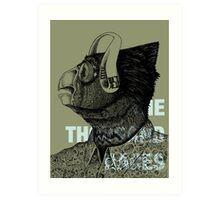 Corrective—The Thousand Races Art Print