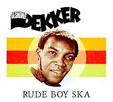 Desmond Dekker Is A Rude Boy Ska Photographic Print