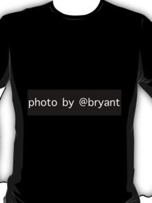 Photo By @Bryant T-Shirt