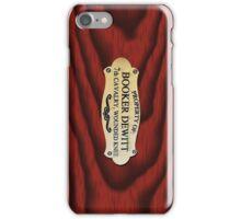 Booker Dewitt's Box iPhone Case/Skin