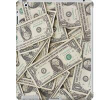 American One Dollar Bills iPad Case/Skin