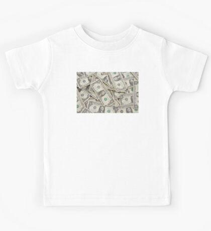 American One Dollar Bills Kids Tee