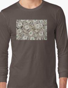 American One Dollar Bills Long Sleeve T-Shirt