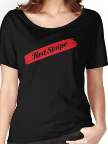 Jamaican Chillin' With A Red Stripe  Women's Relaxed Fit T-Shirt