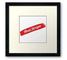 Jamaican Chillin' With A Red Stripe  Framed Print