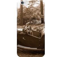 Expressions in Sepia iPhone Case/Skin