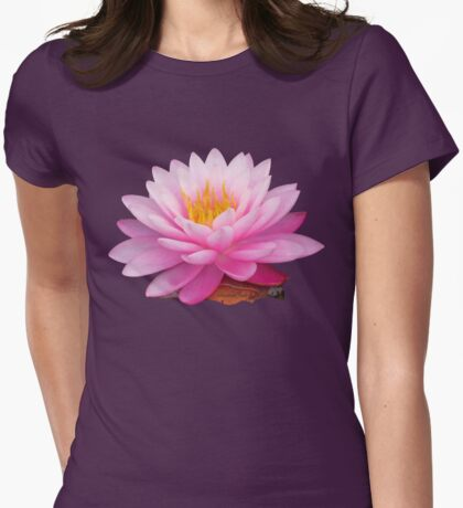 Beauty in the Water Garden Womens Fitted T-Shirt