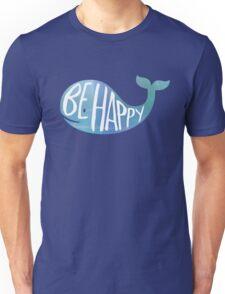 Happy Whale Unisex T-Shirt
