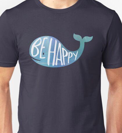 Happy Whale Unisex T-Shirt