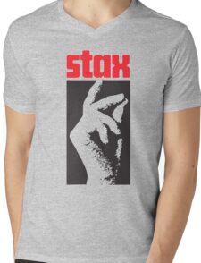 Stax Records Mens V-Neck T-Shirt