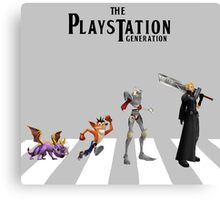THE PLAYSTATION GENERATION Canvas Print
