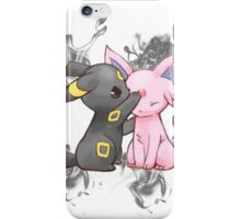 Espeon and Umbreon iPhone Case/Skin