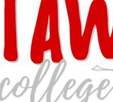 Catawba College Sticker